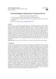 employee motivation project review of literature  employee motivation and job satisfaction in project based bspace