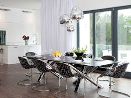 best modern light fixtures for dining room to look fabulous gorgeous glossy silver modern light best lighting for dining room