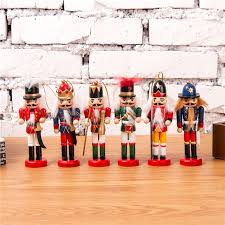 New 6pcs <b>1Set 12Cm</b> High Christmas Holiday Nutcracker Scouts ...