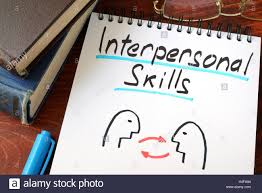 interpersonal skills written in a paper a glasses stock photo interpersonal skills written in a paper a glasses