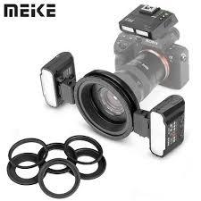 <b>Meike MK</b>-<b>MT24S Macro Twin</b> Lite Flash with Trigger for Sony A9 ...