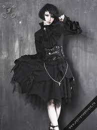 Black Cathedral <b>skirt</b> Q-013 by <b>PunkRave</b>. Layered asymmetric ...