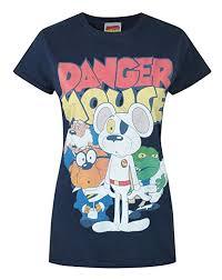 Official <b>Danger Mouse</b> Women's <b>T</b>-<b>Shirt</b>: Amazon.co.uk: <b>Clothing</b>