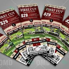 lawn care ticket style promo 3 the lawn market lawn care