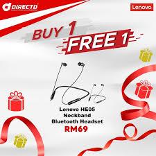 Online Store. LENOVO Sport Wireless Headsets (HE05 ... - DirectD