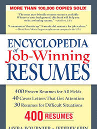 encyclopedia of job winning resumes