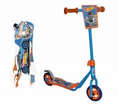 <b>Самокат</b> 1TOY <b>Hot Wheels</b>, голубой — купить в интернет ...