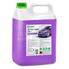 <b>Автошампунь Grass Active</b> Foam Gel, 6 кг в Москве: отзывы, цены ...