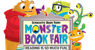 Image result for book fair monster clipart
