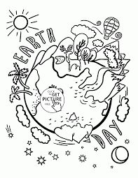 Small Picture Earth Day Kindergarten Coloring Pages coloring page