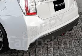 <b>Накладка</b> (<b>губа) на</b> задний бампер Prius 30 - GT и тюнинг во ...