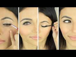 how to apply eyeliner simple eyeliner look eye makeup tutorial teni panosian