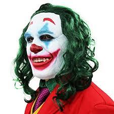 2019 Joker Mask Cosplay Horror Scary Smile Evil ... - Amazon.com