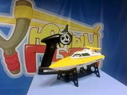 <b>Радиоуправляемый катер Fei Lun</b> Speed Vitality FT007 желтый ...