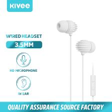 <b>Kivee Earphones</b> HiFi HD Audio <b>Earphone</b> With Mic Noise ...