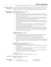 resume for office manager  seangarrette coresume