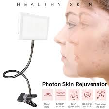 3 Colors LED <b>Skin Rejuvenator</b> Face Photon Red <b>Light Therapy</b> ...