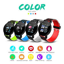 <b>119 Plus Smart Bracelet</b> Heart Rate Smart Wristband Sport Watch ...