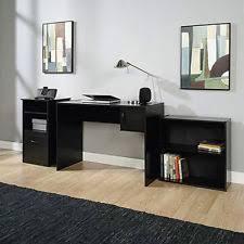 desk home office computer furniture wood table student laptop workstation black black home office laptop