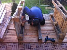 """Résultat de recherche d'images pour """"image meuble en palette jardin"""""""