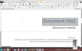 how to remove a cover page in microsoft word 2013 how to remove a cover page in microsoft word 2013