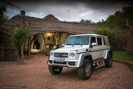 <b>Электромобиль Barty Mercedes-Maybach G650</b> Landaulet от Barty ...
