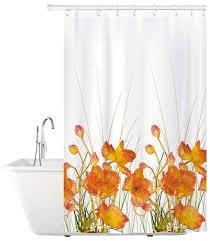 Штора для <b>ванной</b> Tatkraft <b>French</b> Poppies 180x180 — купить по ...