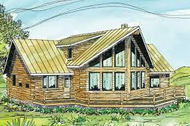 A Frame House Plans   A Frame Home Plans   A Frame Designs    A Frame House Plan   Aspen     Front Elevation