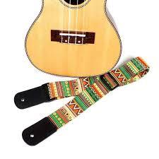 Online Shop <b>Adjustable</b> Hawaii <b>Guitar Strap</b> National Style <b>Printing</b> ...