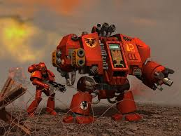 Image result for blood angel dreadnought
