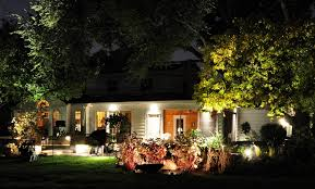 best laandscape outdoor lighting ideas with wall lamps also lush garden decoration magnificent exterior house design backyard landscape lighting