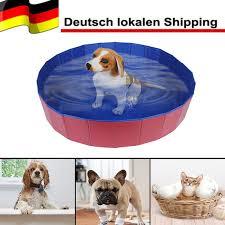 PVC Washing Pond <b>Dog</b> Tub Bed <b>Waterproof Pet Dog Cat Foldable</b> ...