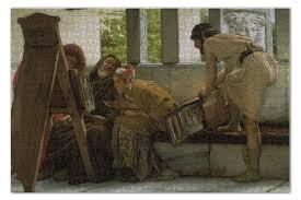 """Пазл 73.5 x 48.8 (1000 элементов) """"В римской мастерской ..."""