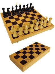 Шахматы обиходные с шахматной доской пластик и шашками ...