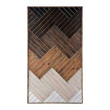 Ombre <b>Wooden Planks Wall</b> Plaque | Kirklands