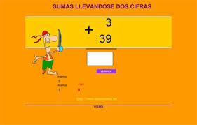 Resultado de imagen de SUMA DE NÚMEROS DE DOS CIFRAS