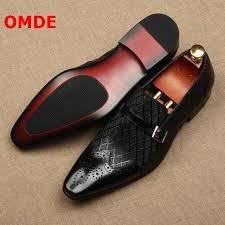 <b>OMDE</b> 2018 Summer New Arrival British Style <b>Genuine Leather</b> ...