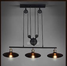 nordic industrial pendant lamp lights rh loft pulley adjustable retractable coffee hanglamp e27 light fixtures modern cheap lighting fixtures