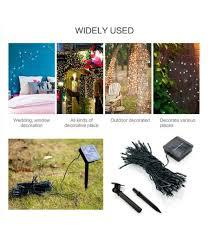 High Quality <b>10M 100 LED Solar</b> Power Fairy Lights String Garden ...