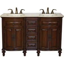 55 inch double sink bathroom vanity: cumberland quot double bathroom vanity set