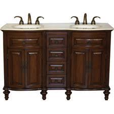 55 inch double sink bathroom vanity: cumberland quot double bathroom vanity set