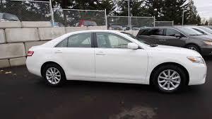 2010 Toyota Camry Se 2010 Toyota Camry Xle White Ar067191 Seattle Renton Youtube