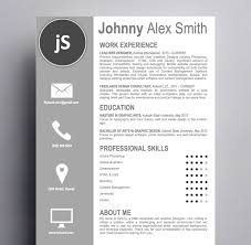 artistic resume template easy to edit and customize kukook artistic resume template
