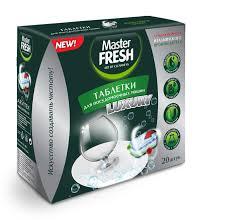 <b>Таблетки</b> для посудомоечных машин <b>Master FRESH</b> , <b>luxury</b>/<b>10</b> в ...