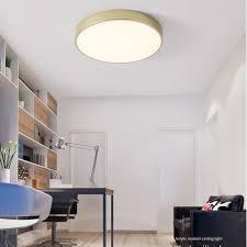 Beleuchtung SUPER THIN ROUND <b>LED</b> CEILING LIGHT <b>MODERN</b> ...