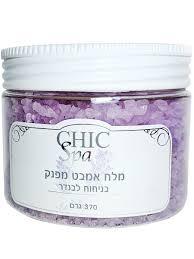 <b>Соль Мертвого моря для</b> ванны Лаванда, 370 г Chic Cosmetic ...