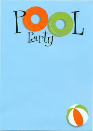 pool party invitations com