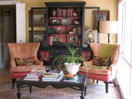 colorful chairs for boho living chic cozy living room furniture