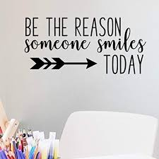 <b>Smile Quotes</b> Wall Decor: Amazon.com