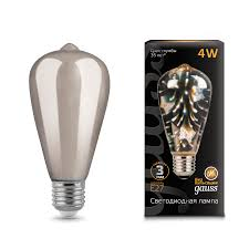 <b>147802404 Gauss</b> LED 3D-Butterfly E27 4W 1/10/40 купить за ...